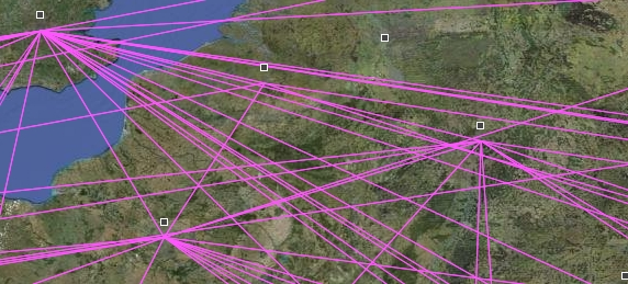 Visulisation produite par Paj2KLM - détail